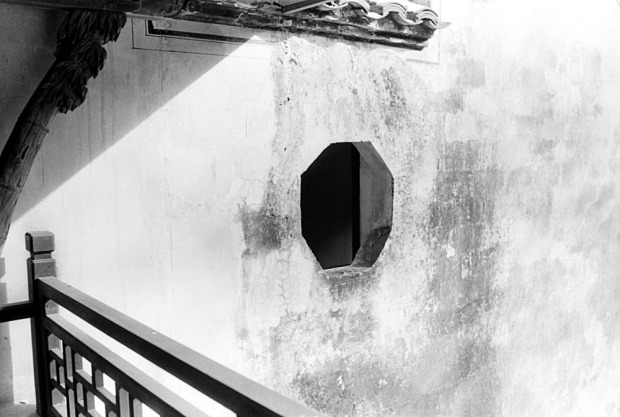 Chinese Bagua window