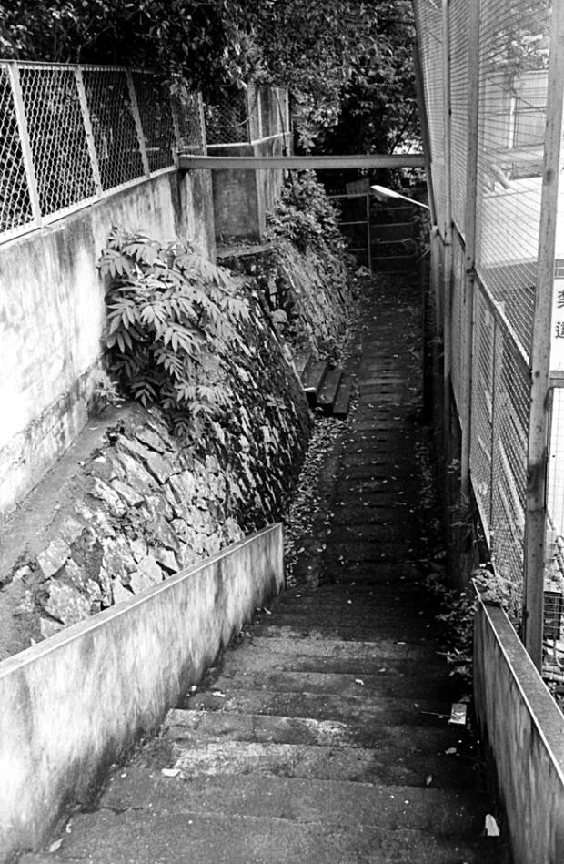 Alley scene