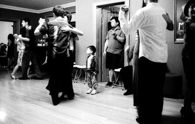 Little boy in milonga